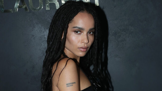 Zoe Kravitz Cast As Catwoman In Upcoming 'Batman' Movie Reboot