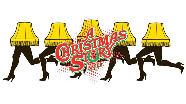 The annual A Christmas Story 5K-10K comes to the streets of
