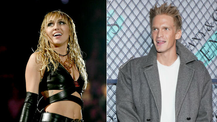Miley Cyrus Calls Cody Simpson 'Baby,' Shares Snippet Of His New Song | iHeartRadio