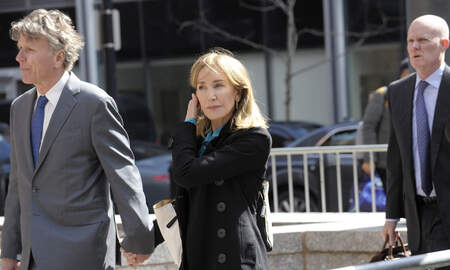 Entertainment News -  Felicity Huffman Turns Herself In to Federal Prison For 2 Week Sentence