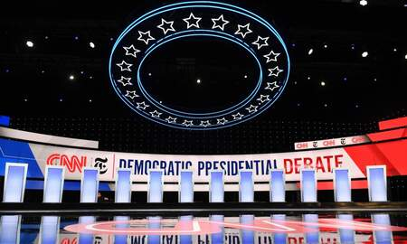 Political Junkie -  Watch Tonight's Democratic Debate in Ohio Here