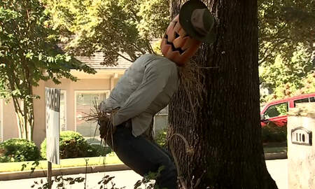 Weird News - Man Censors His 'Offensive' Halloween Display Following HOA Complaint