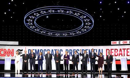 National News - Democrats Host 2020 Primary Debate In Ohio