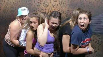Jake Dill - Pics of People Freaking Out at Haunted House