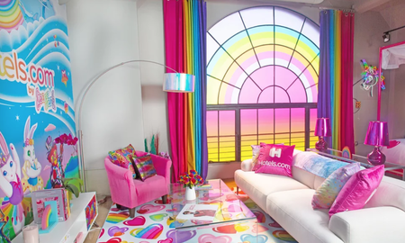 Bobby Bones - What 26-Year-Olds Care About: Decked Out Lisa Frank Flat Up For Rent In LA
