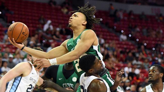 Celtics' Carsen Edwards Hits Eight 3-Pointers In Third Quarter