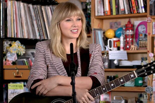 Watch Taylor Swift Perform 'Lover,' 'All Too Well' & More On Tiny Desk