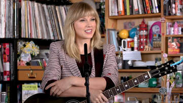 iHeartRadio Music News - Watch Taylor Swift Perform 'Lover,' 'All Too Well' & More On Tiny Desk
