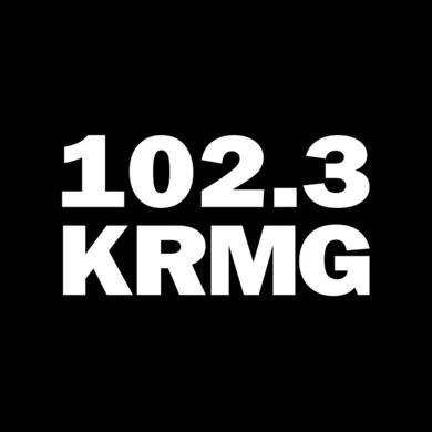 NEWS 102.3 KRMG logo