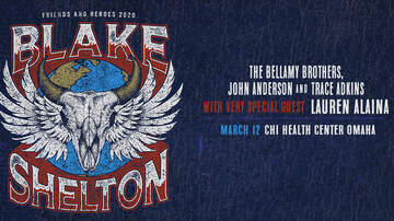 image for Blake Shelton is coming to Omaha!