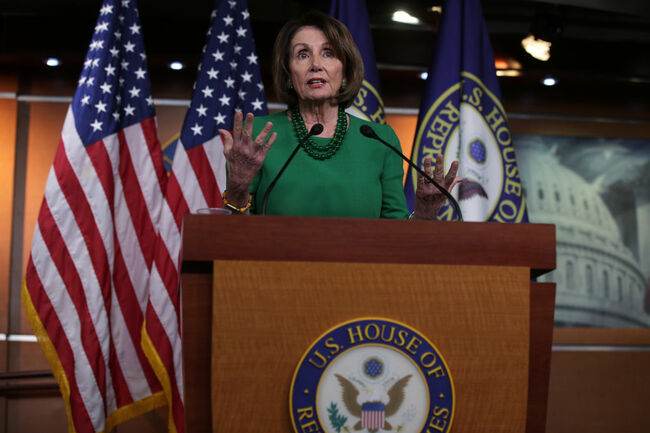 House Democrats Hold Meeting To Discuss Impeachment Inquiry