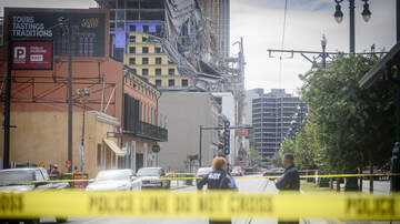 WJBO Local News - Explosives Will Be Used To Bring Down Cranes At Hard Rock Hotel