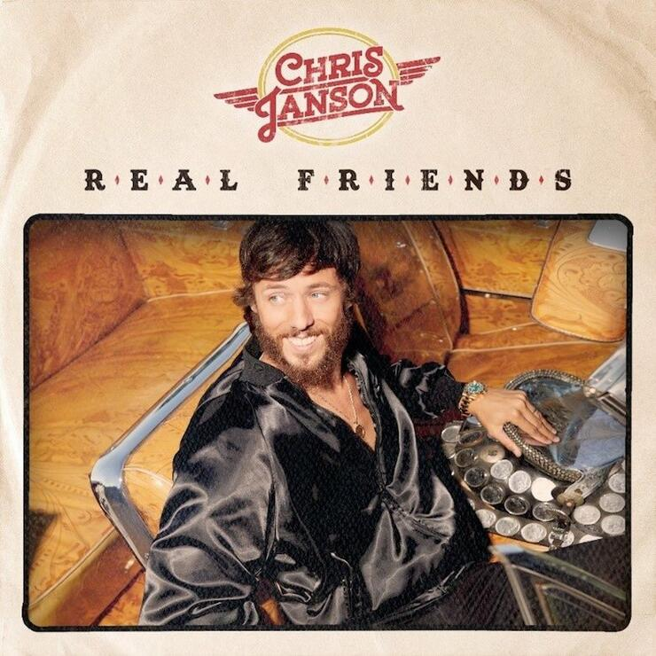 Chris Janson 'Real Friends' Album Cover Art