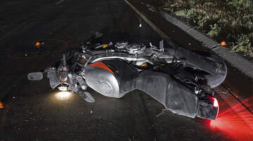 Weird News - Motorcyclist Survives 47-Foot Fall After Crashing His Bike