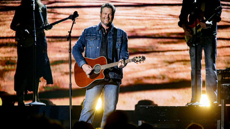 Blake Shelton Drops New Faith-Filled Anthem 'Jesus Got A Tight Grip' | iHeartRadio