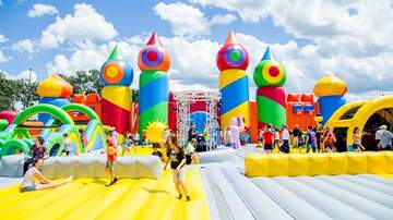#iHeartPhoenix - The World's Largest Bounce House Is Coming Back to Arizona