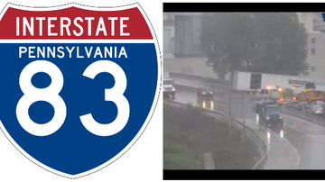 Reading and Harrisburg Breaking News - TRAFFIC ALERT: I-83 South in York County BLOCKED by Accident