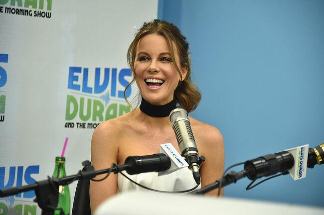 """Kate Beckinsale Visits """"The Elvis Duran Z100 Morning Show"""""""