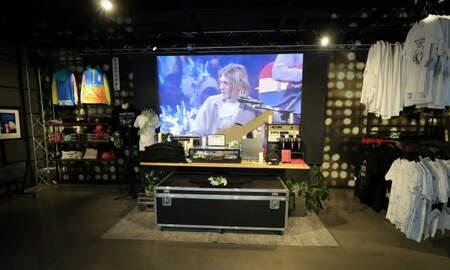 Trending - Kurt Cobain NYC Pop-Up Shop Includes Merch Featuring Artwork & More