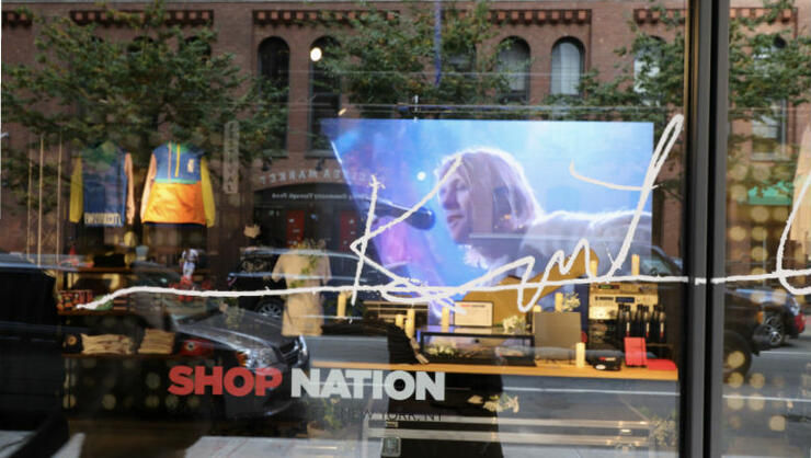 Kurt Cobain NYC Pop-Up Shop Includes Merch Featuring Artwork & More | iHeartRadio