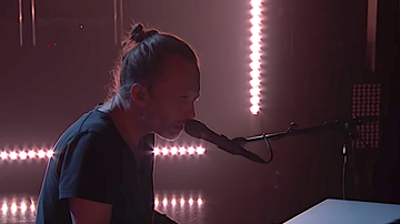 iHeartRadio Music News - Thom Yorke Mesmerizes 'Kimmel' Audience With Three-Song Set: Watch