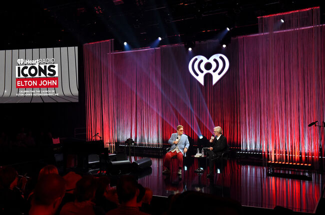 "iHeartRadio ICONS With Elton John: Celebrating The Launch Of Elton John's Autobiography, ""ME"""