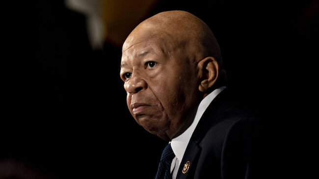 Representative Elijah Cummings Speaks At National Press Club