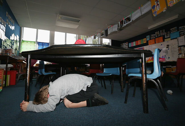 More Than A Million Take Part In ShakeOut Earthquake Drill