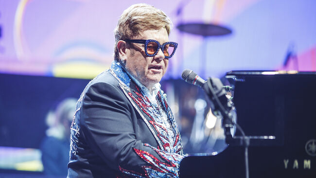Elton John Concert In Madrid