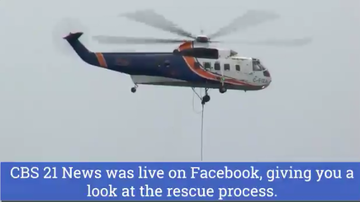 Reading and Harrisburg Breaking News - WATCH: Crashed Plane Pulled from Susquehanna River by Helicopter