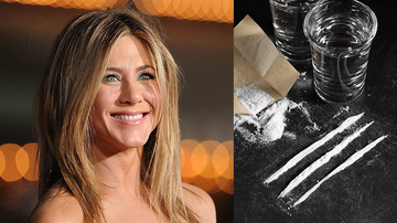 Trending - Fans Claim Drugs Are Visible In Jennifer Aniston's First Instagram Photo