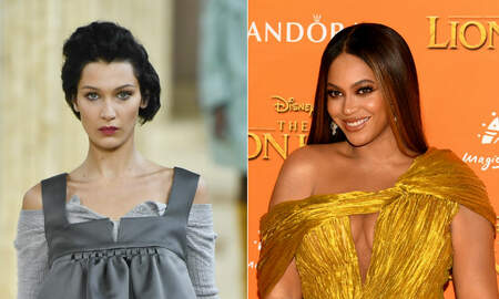 Entertainment News - Bella Hadid Named Most Beautiful Woman (Over Beyonce) Based On Science