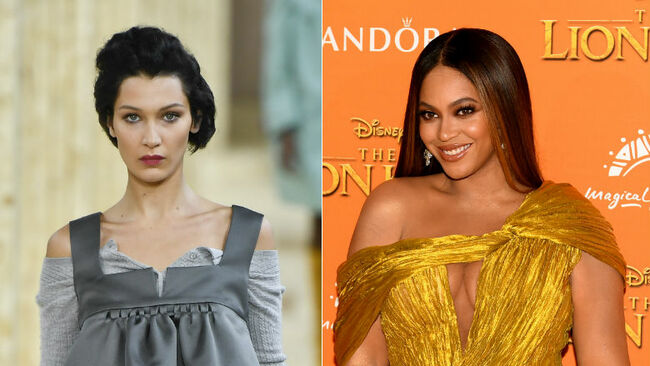 Bella Hadid Named Most Beautiful Woman (Over Beyonce) Based On Science