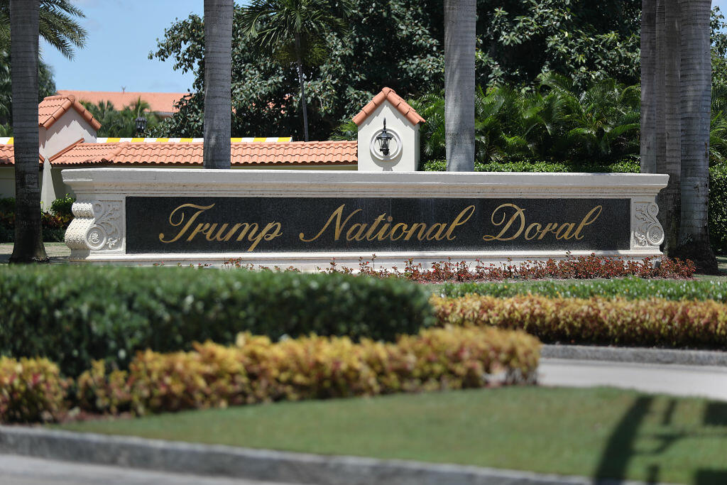 Does Doral prove that Donald Trump is still running the Trump Organization?