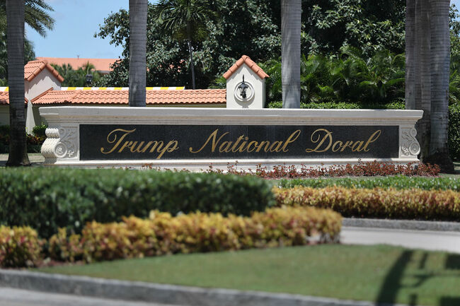 President Trump Suggests His Doral, Florida Resort As Site For 2020 G7 Meeting