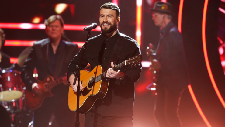 Sam Hunt Sings Reba McEntire's 'Fancy' At CMT Artists Of The Year Awards | iHeartRadio