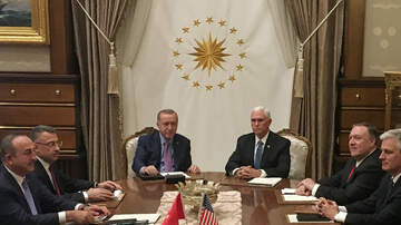 Politics - Vice President Mike Pence Announces Turkey Has Agreed to a 5-Day Ceasefire