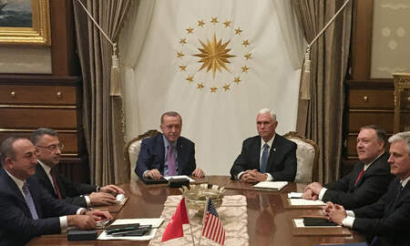 National News - Vice President Mike Pence Announces Turkey Has Agreed to a 5-Day Ceasefire