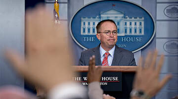 Politics - Mick Mulvaney Says Trump Withheld Ukraine Aid For Political Reasons