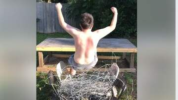 Jake Dill - This Dummy Does a Coffin Drop Onto Barb Wire Chairs