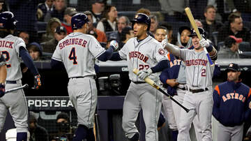 Sports Desk - Astros Top Yankees, Take 3-1 ALCS Lead