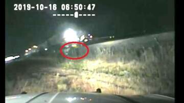 Leigh Ann and Jeremy - Dashcam: Trooper pulls driver stuck on tracks right before train hits!