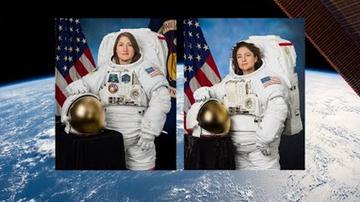 National News - NASA Conducts First All-Female Spacewalk
