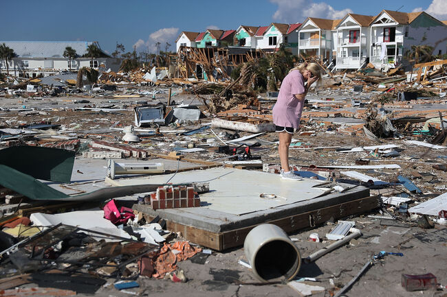 Recovery Efforts Continue In Hurricane-Ravaged Florida Panhandle