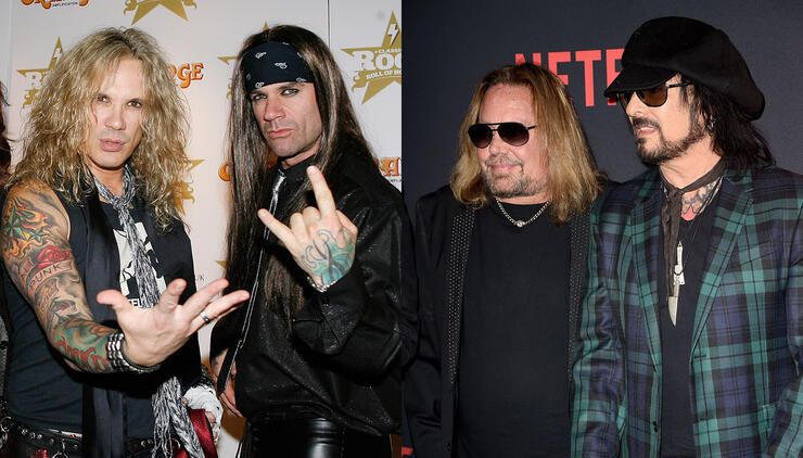 Nikki Sixx Fires Back At Steel Panther Singer For Ruthless Vince Neil Joke | iHeartRadio