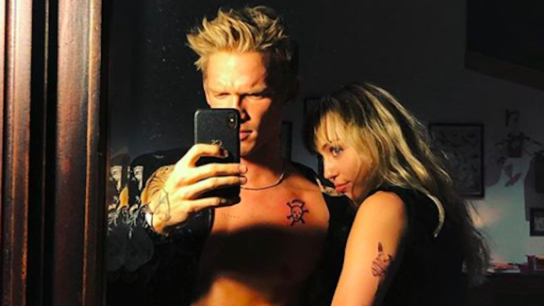 Cody Simpson Calls Girlfriend Miley Cyrus His 'Golden Thing' In New Song