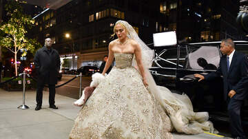 iHeartRadio Music News - Jennifer Lopez Stuns in Gorgeous Wedding Dress in NYC