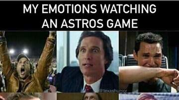 Theresa - The Many Moods While Watching an Astros Game #TakeItBAck
