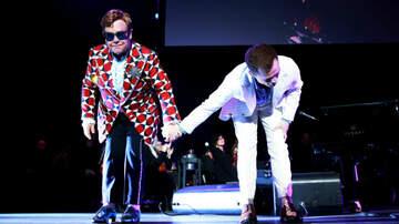 iHeartRadio Music News - Elton John & Taron Egerton Team Up At 'Rocketman' Screening For Duets
