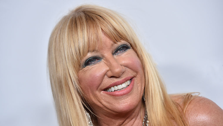 Suzanne Somers Marks 73rd Birthday With Nude Pic, Told To 'Have Some Class' | iHeartRadio